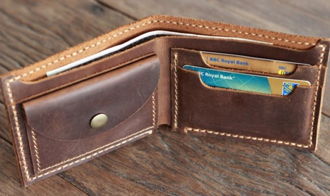 Mens-Distressed-Leather-Wallet-with-Coin-Pocket-By-JooJoobs-Interior-View-Filled