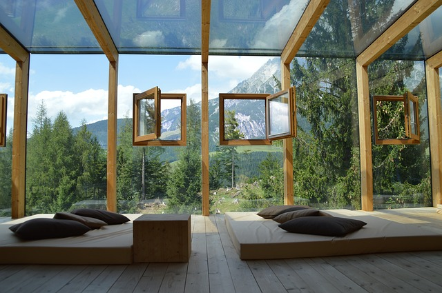 skleněná okna