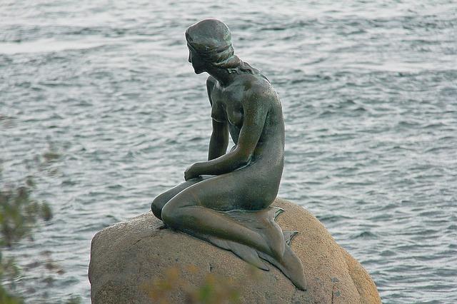 socha, Kodaň, morská víla.jpg
