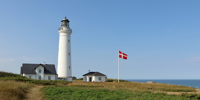 maják, Dánsko, vlajka.jpg