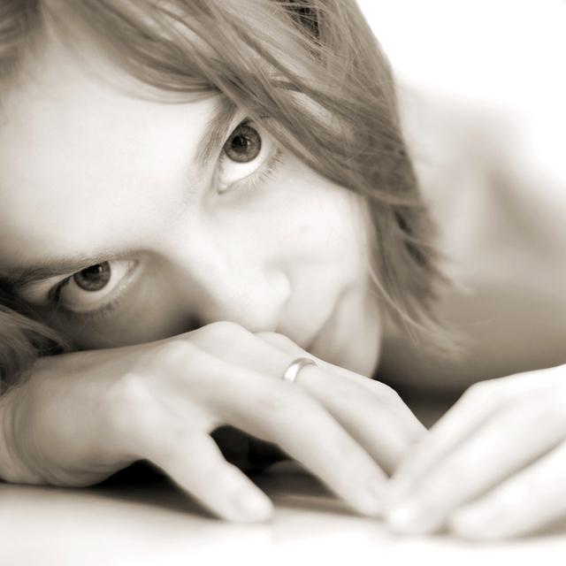 Žena, portrét, model